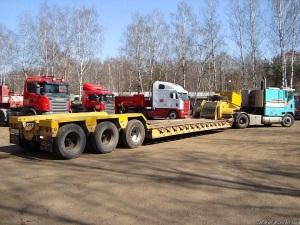 Трал 13 м. 60 тонн