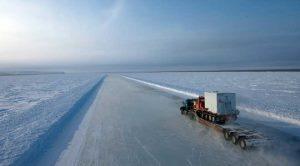 Перевозки негабаритных грузов по зимникам