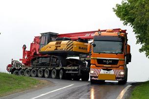 Транспортер для перевозки негабарита